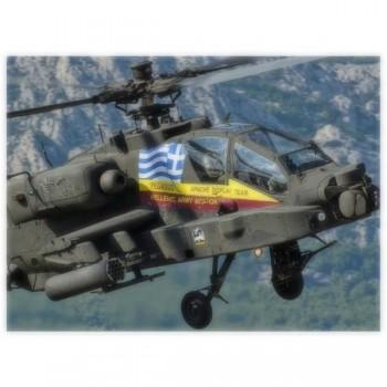 AH-64D APACHE GREEK DEMO...