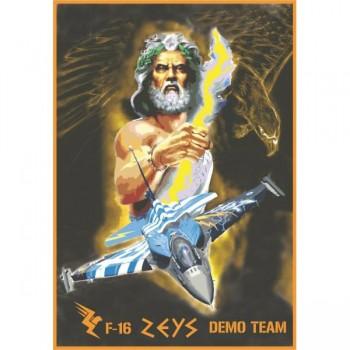 ZEYS GREEK DEMO TEAM Decal...