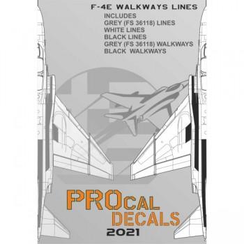 F-RF/4E WALKWAYS - 1/72 Decal