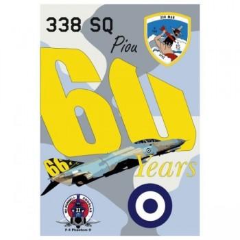 F-4E AUP 338SQ 60-66 YEARS...